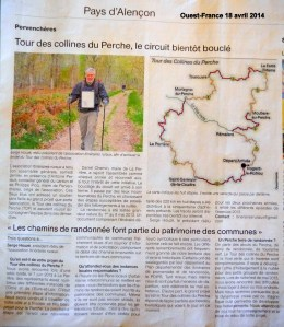 Ouest-France 18 avril 2014