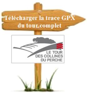 panneau télécharger la trace GPX du TCP
